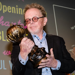 "Paul Williams receives SHIFF's first ""Washington Irving Legend Award."""