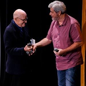 "Edward R. Pressman receives SHIFF's first ""Horseman Award"" for Lifetime Achievement in Producing."